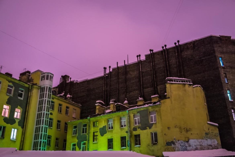 Яркие Питерские ночи