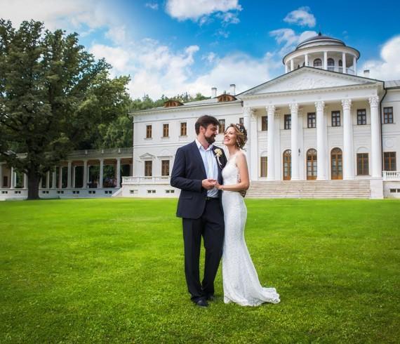 Свадебная съемка в Остафьево