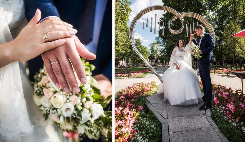 Свадебная съемка. Москва. Лето