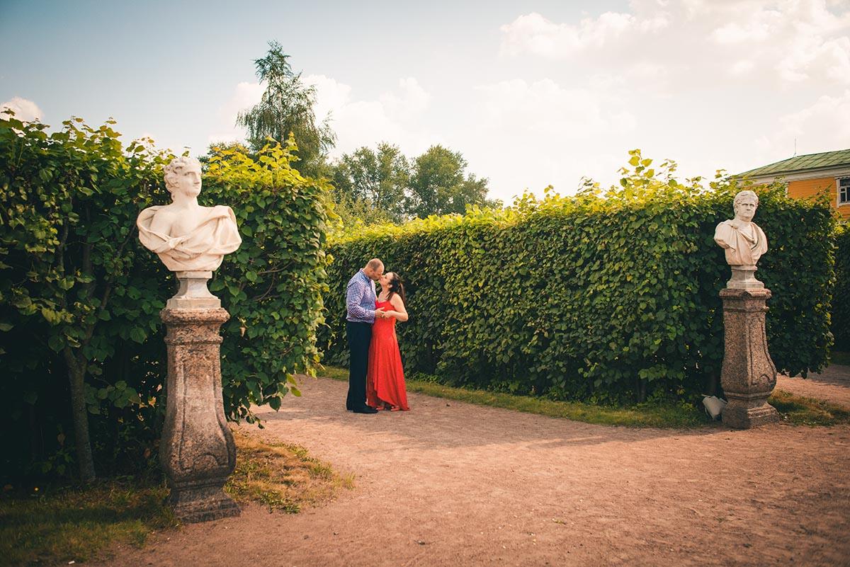 Love story фотосъёмка в Кусково
