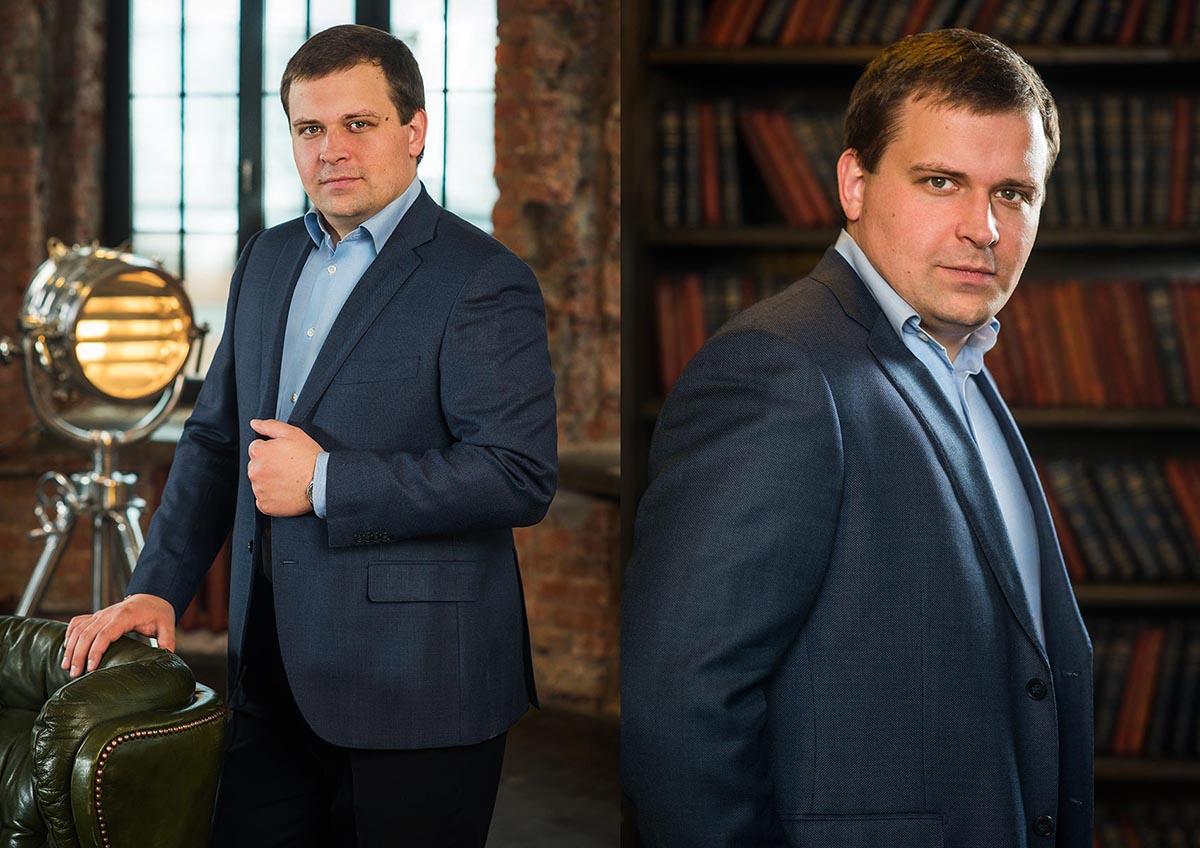 Имиджевый деловой портрет. Павел Тарасов.