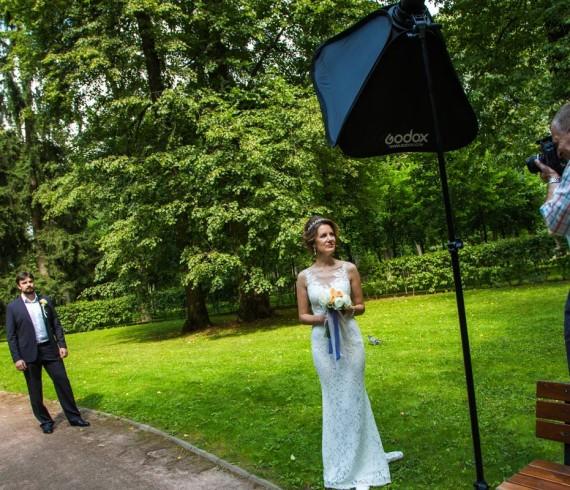 Небольшой репортаж со свадебной съемки