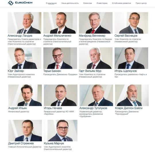 Съемка совета директоров. Бизнес портрет.