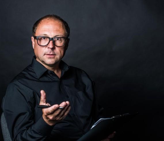 Портретная фотосессия психолога для сайта
