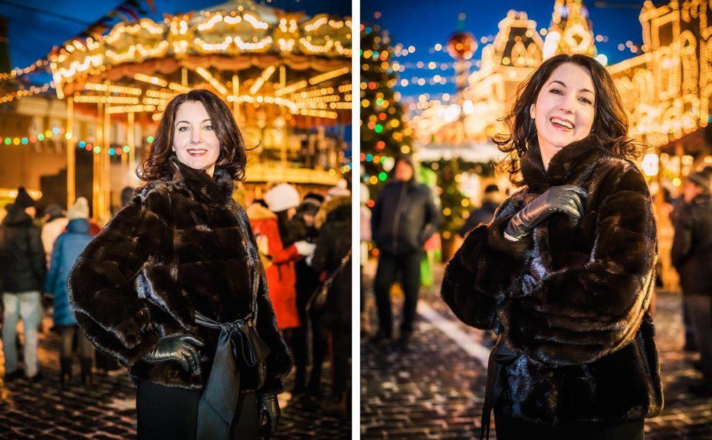 Новогодняя фотопрогулка в центре Москвы