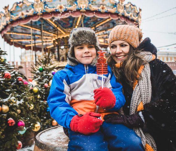 фотопрогулка по новогодней москве