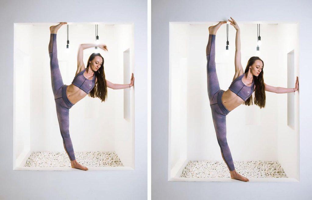 Пример фитнес фотосессии в студии