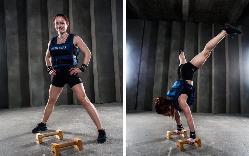 Пример рекламно спортивной съёмки