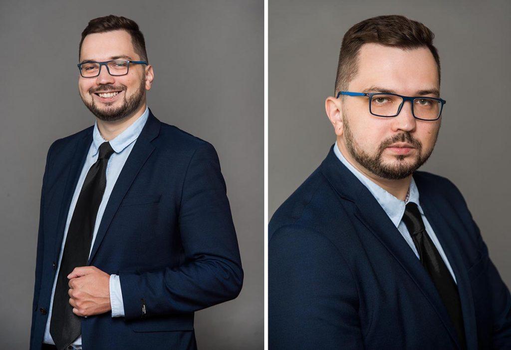Пример съёмки делового портрета в СПб