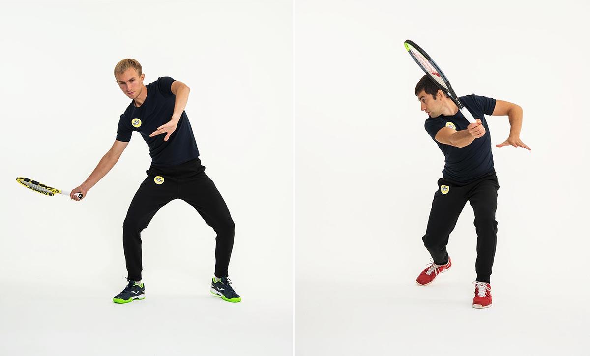 Пример съёмки спортсменов теннесистов контент для соцсетей