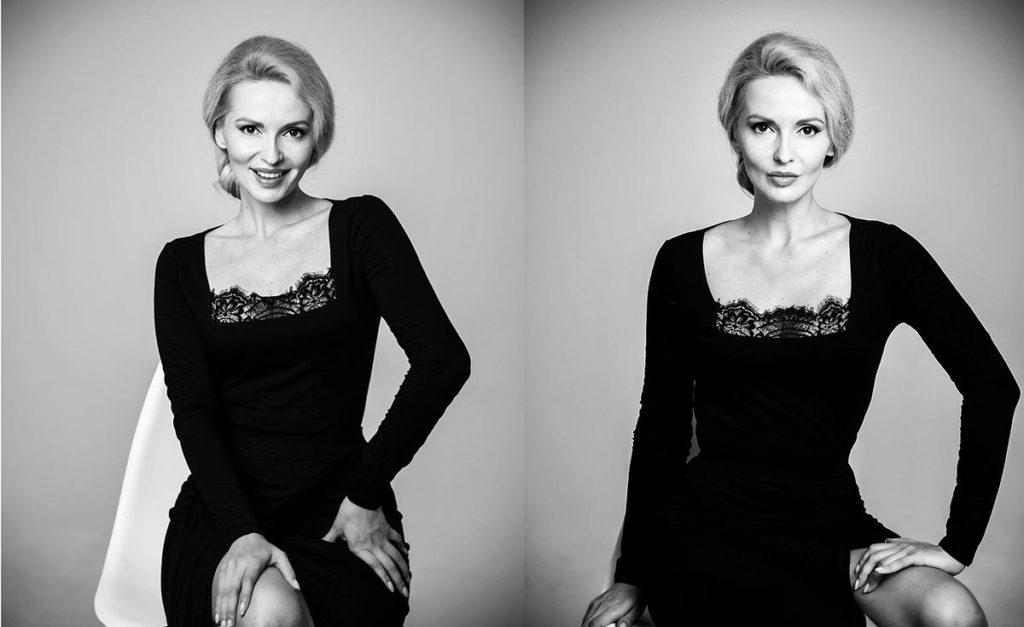 Фотосъёмка для актёрского портфолио Ирины Бариновой