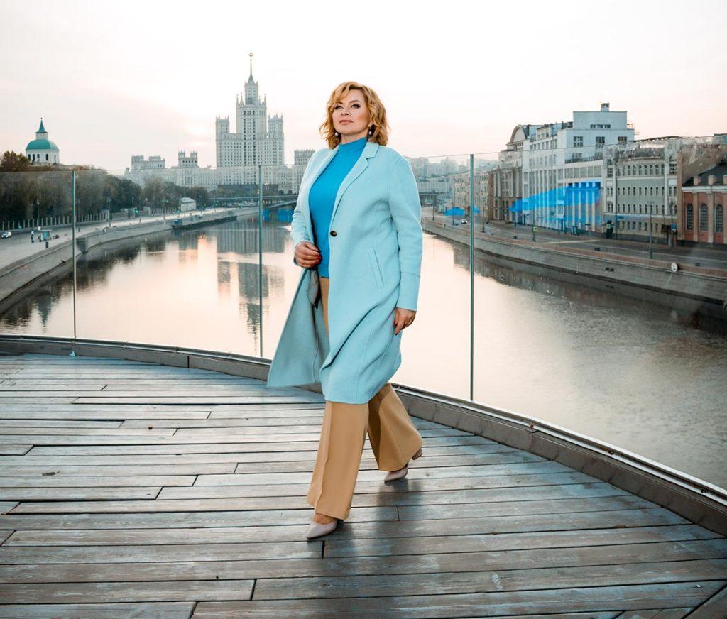 Съёмка для контента риэлтора в Москве