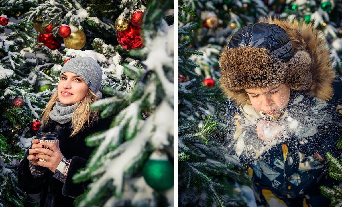 Пару кадров с фотопрогулки зимой