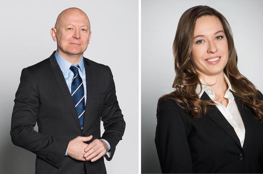 Пример деловой съёмки юристов