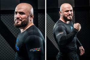 Портрет бойца смешанных единоборств Магомеда Исмаилова