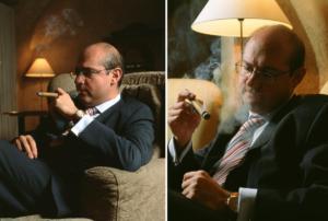 Фотопортрет дня. Джентельмены предпочитают сигары...