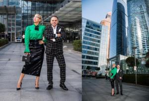 Пример съёмки для личного бренда в Moscow City