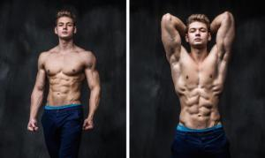 Пример фото спортивного парня